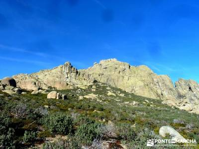 quema Turrón; El Yelmo, La Pedriza; segobriga navaconcejo senderismo asturias